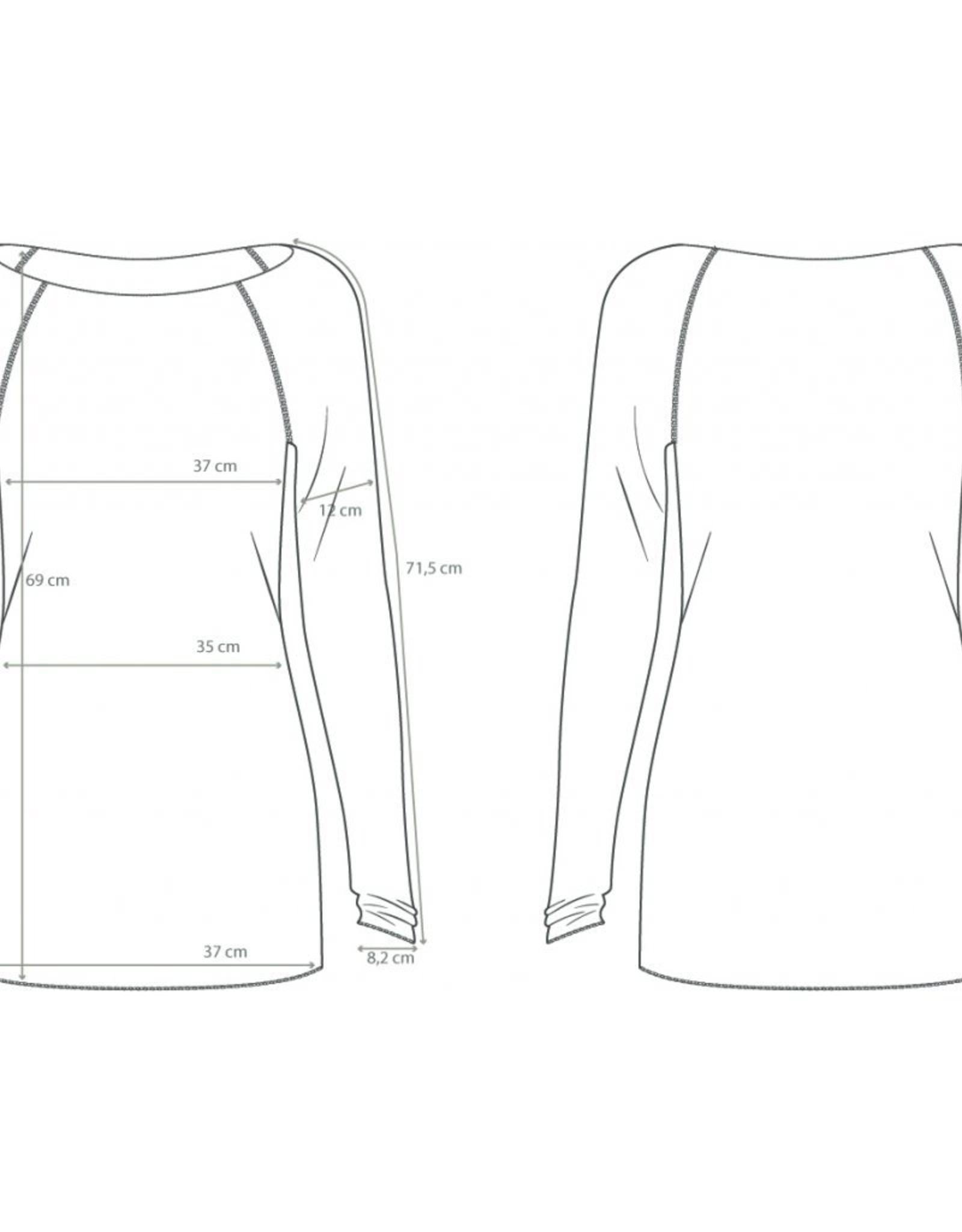 Gai&Lisva Amalie Shirt Wol/Viscose Hazy Brown