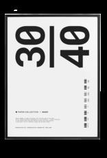 Paper Collective Frame zwart hout  30x40cm