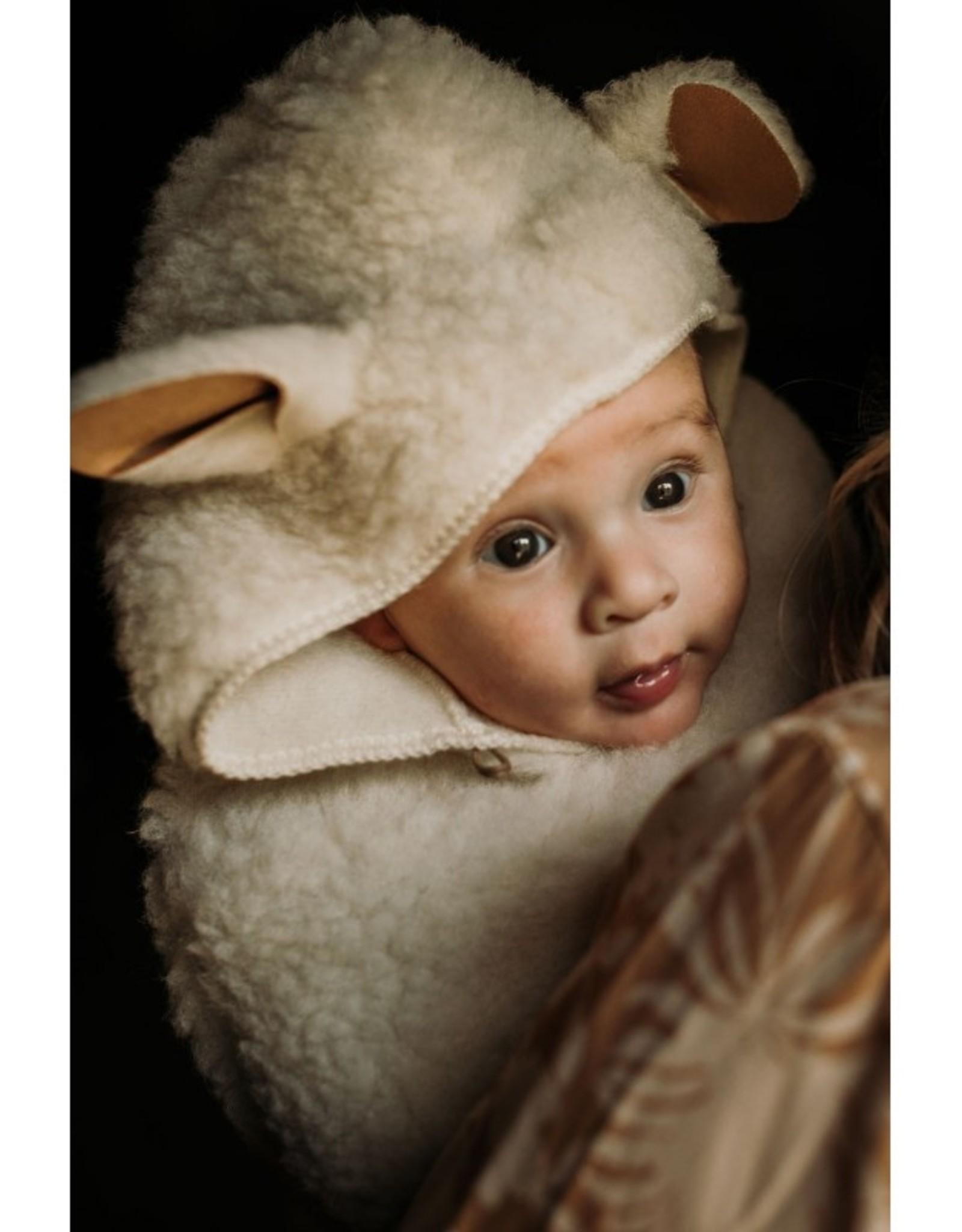 Alwero Baby Tippet Illy merinowol cape