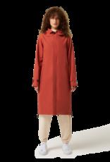 Maium Mac Coat / regenponcho Brick