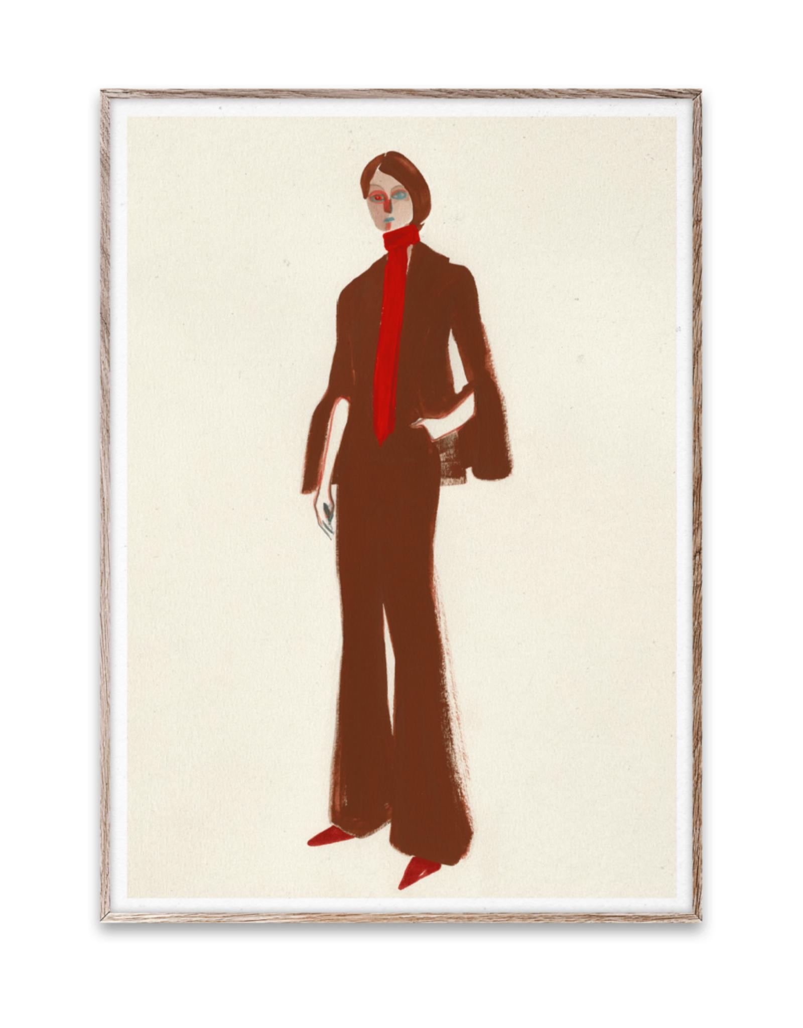 "Paper Collective ""The Suit"" by Amelie Hergardt 30x40cm"