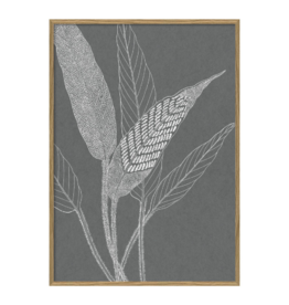 The Dybdahl & Co Poster 'Ferns ||||'