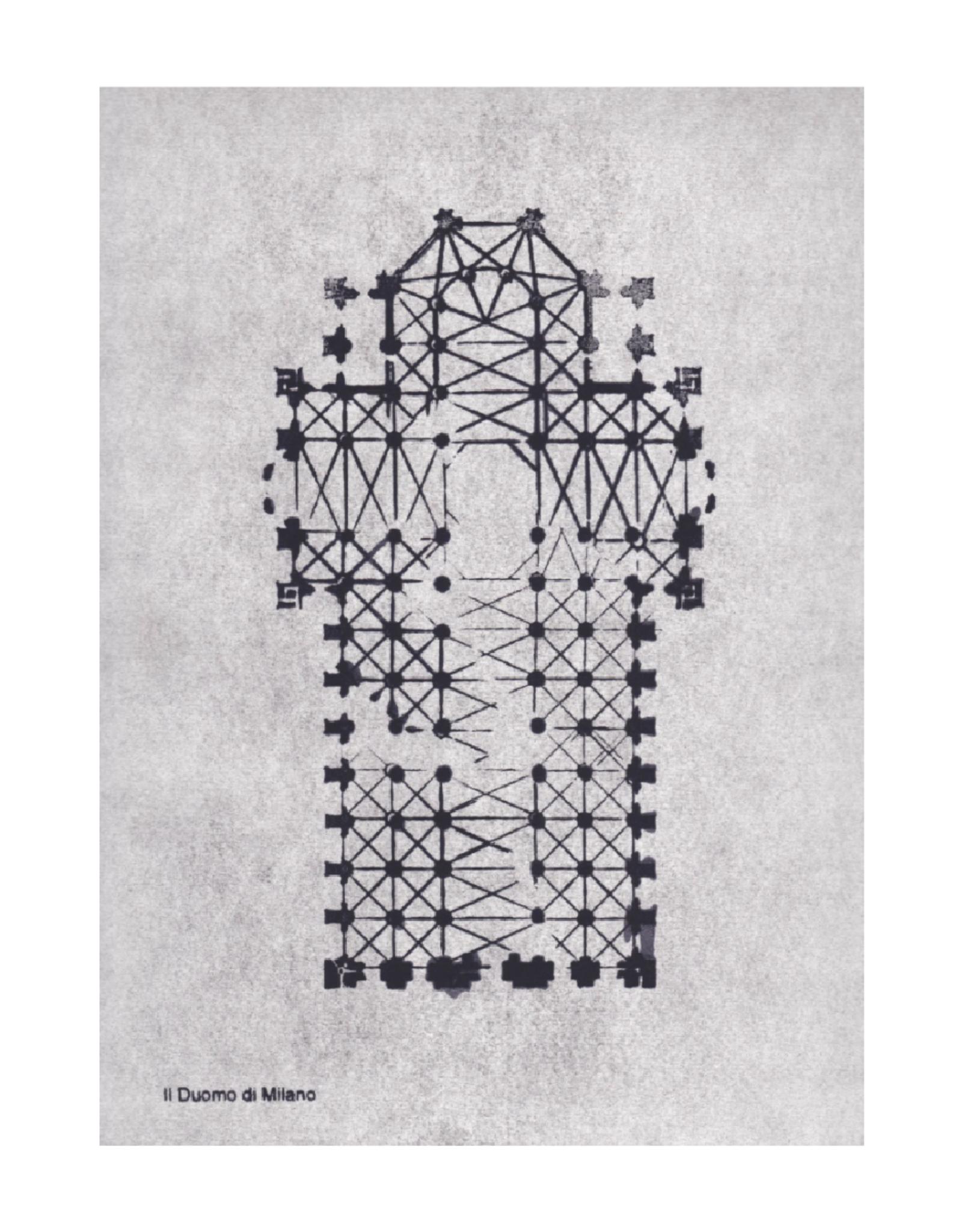 Pernille Folcarelli Artcard A5 || Duomo di Milano