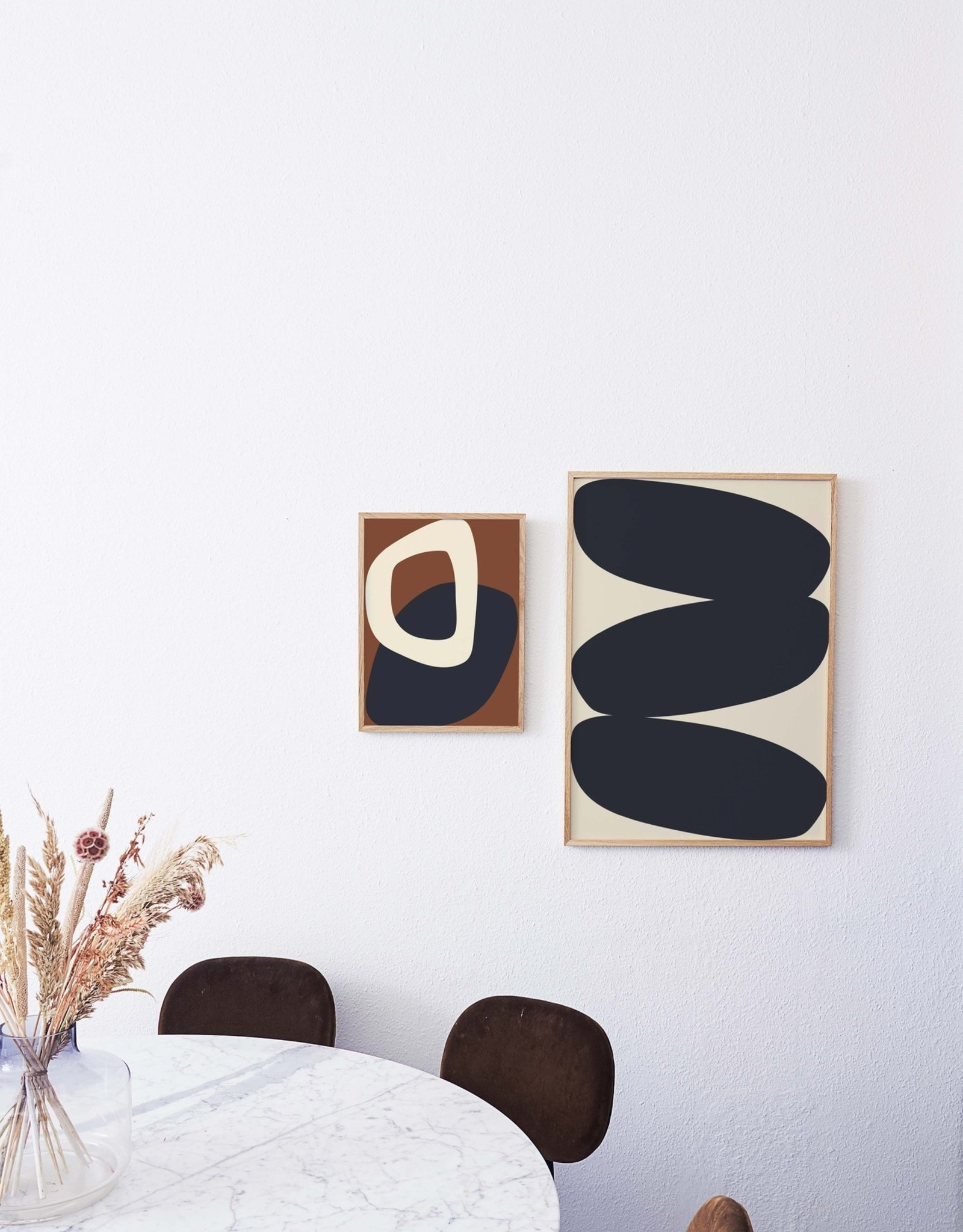 """Paper Collective """"Solid Shapes 01"""" by Nina Bruun"""
