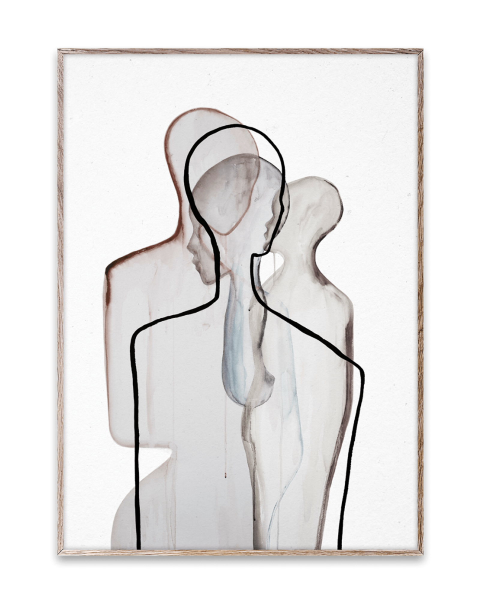 """Paper Collective Copy of """"Silhouette 02"""" by Amelie Hegardt"""