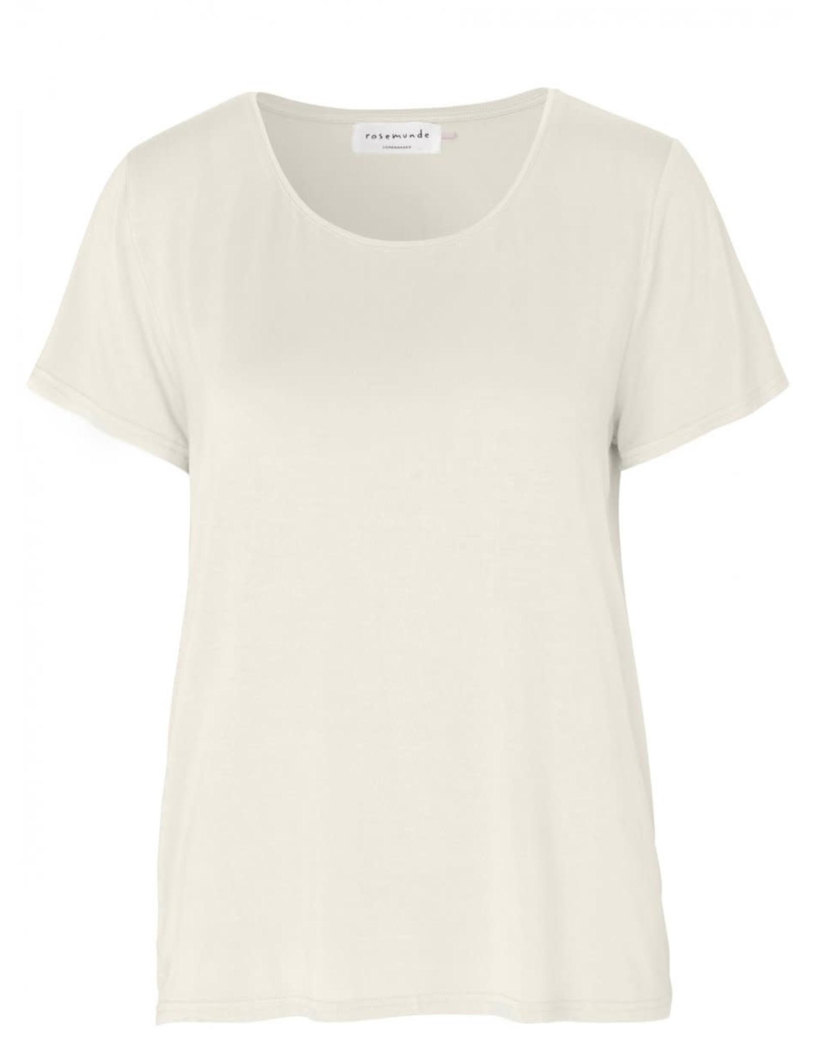 Rosemunde T-Shirt  viscose - Ivoor
