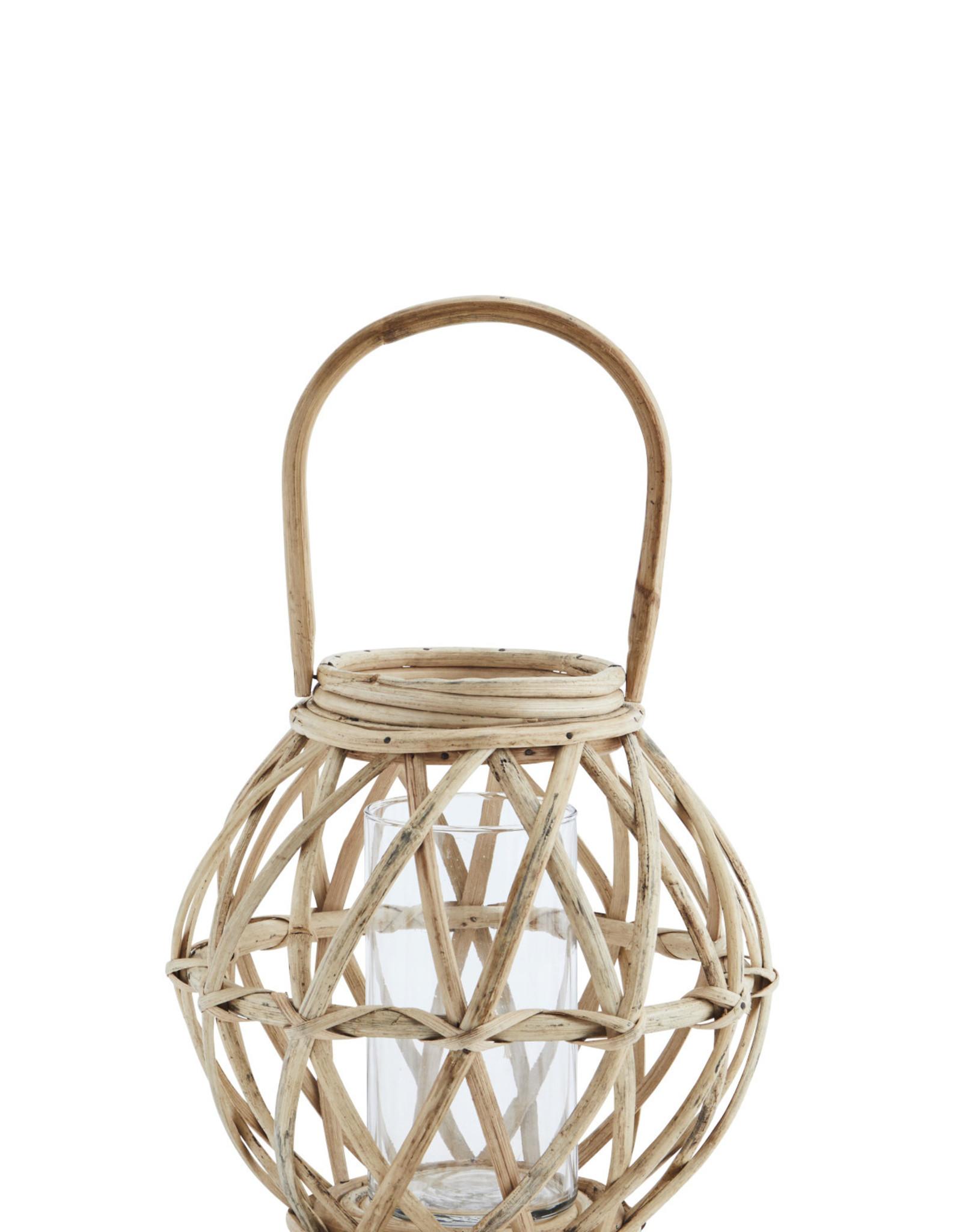Madam Stoltz Bamboo lantaarn 23x23cm