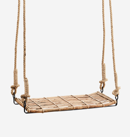 Madam Stoltz Bamboo swing