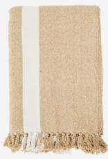 Madam Stoltz Plaid / tafelkleed recycled katoen 125x175cm