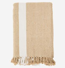 Madam Stoltz Plaid / tablecloth recycled cotton 125x175cm