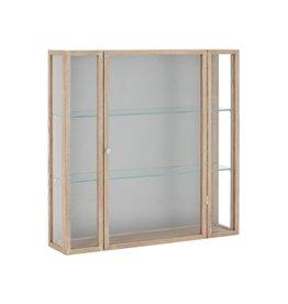 House Doctor Wandkast hout met glazen deur