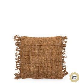 Bazar Bizar Copy of The Oh My Gee Cushion - Beige Black 40x40