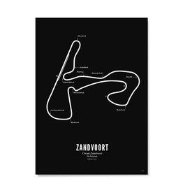 Wijck Poster Circuit Zandvoort - diverse maten