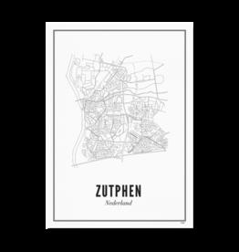 Wijck Kaart Zutphen