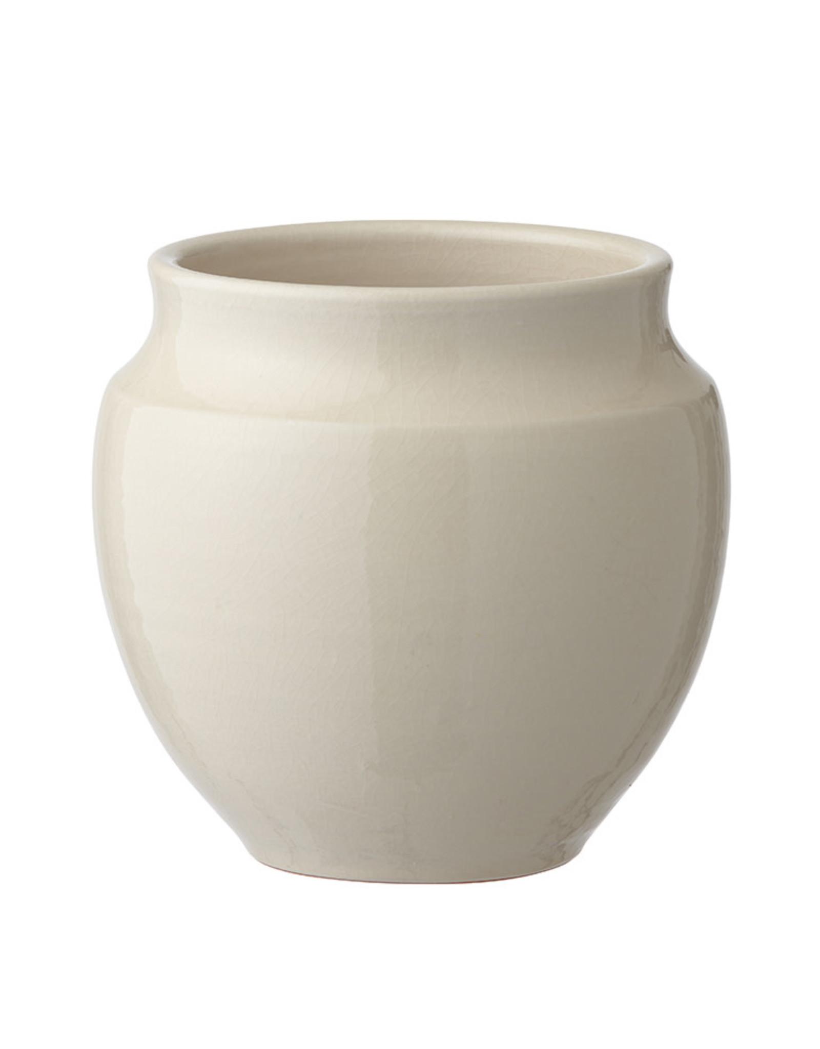 Bungalow pot 'Vita' wit