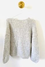 Inti Knitwear vest 'Linda' silver