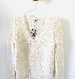 Inti Knitwear trui 'Tina' ecru alpaca