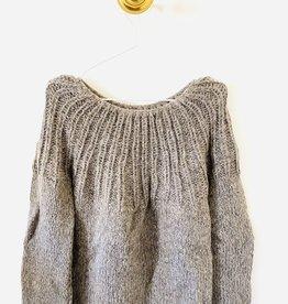 Inti Knitwear trui 'Flor' Arena alpaca