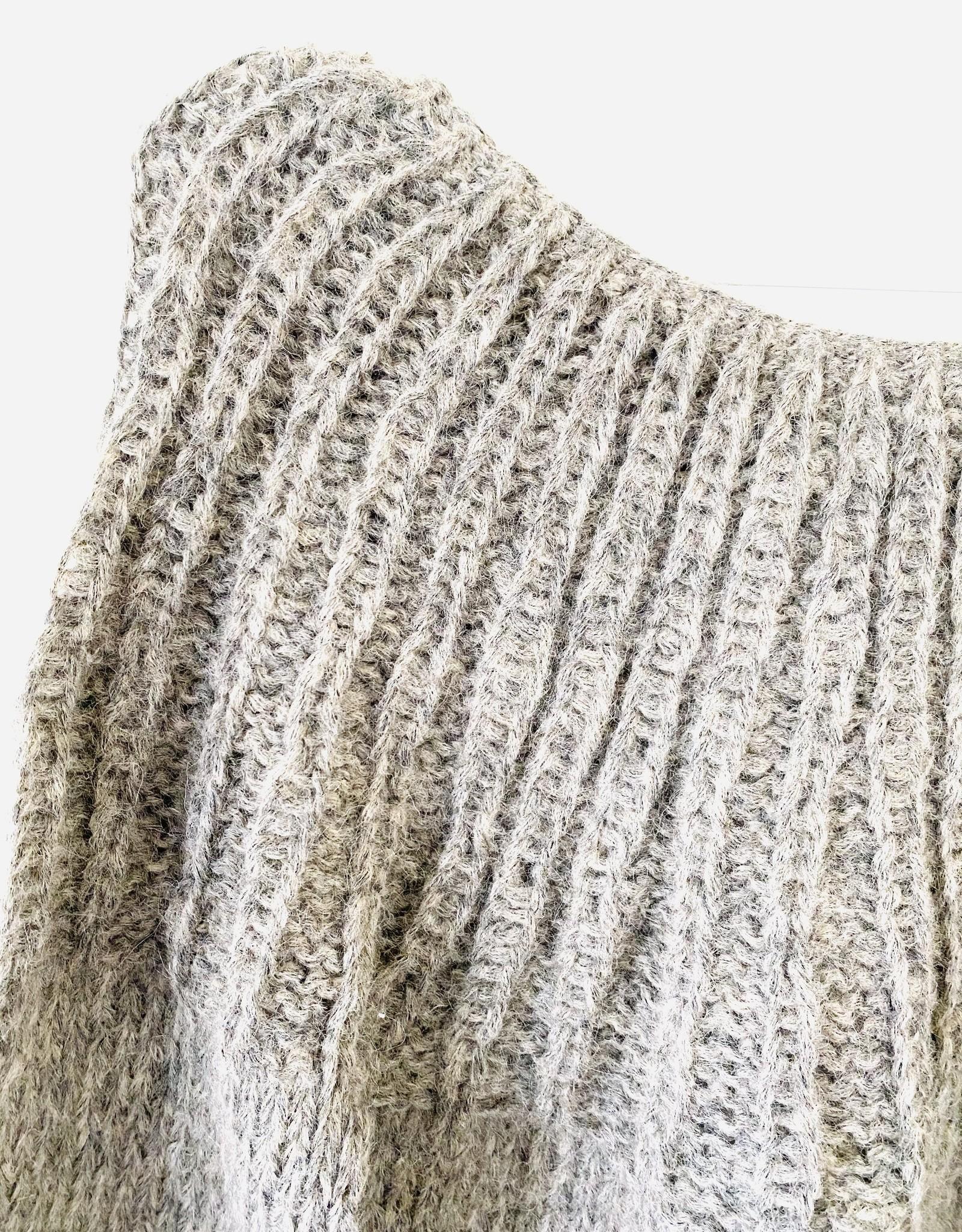 Inti Knitwear sweater 'Flor' Arena alpaca
