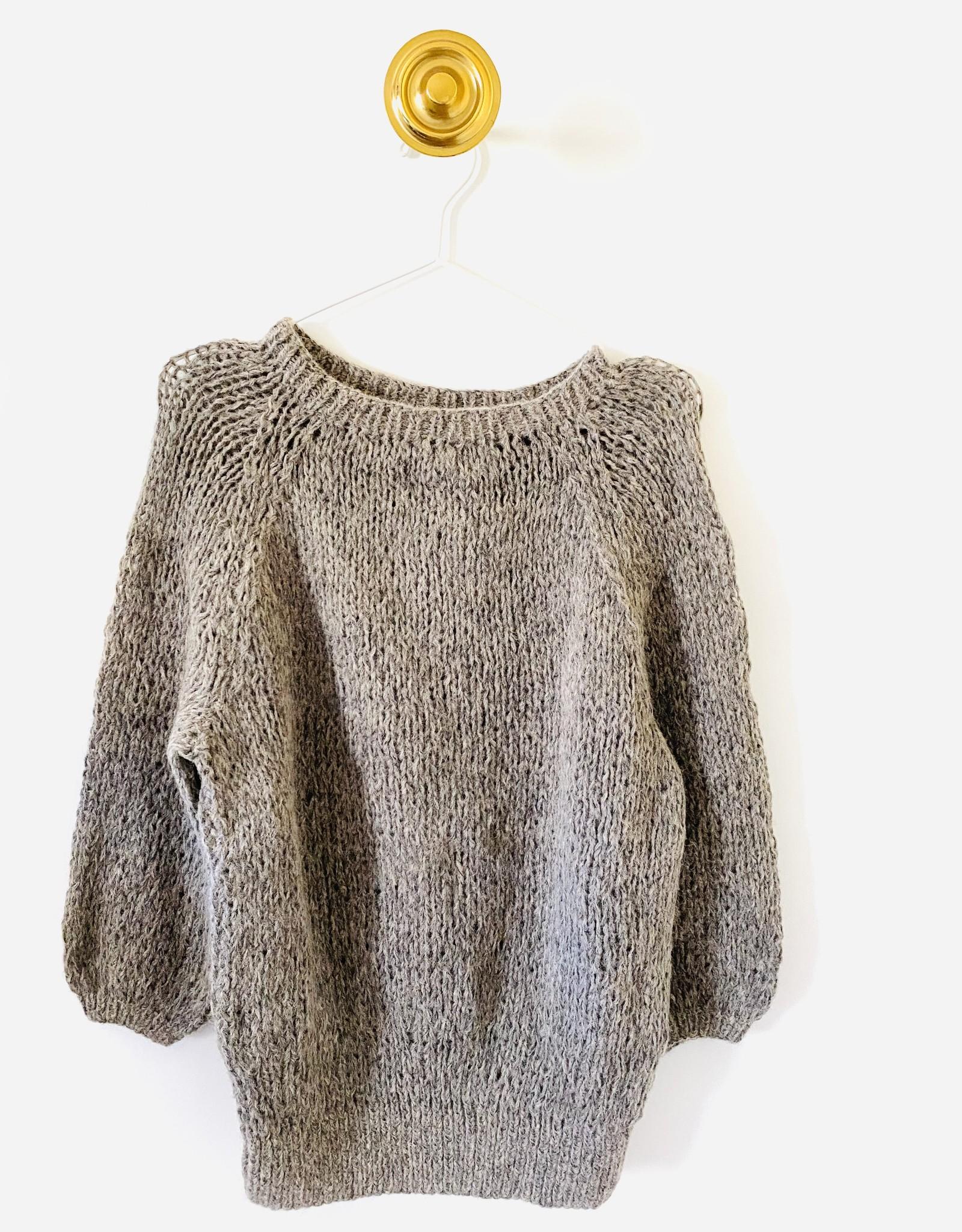 Inti Knitwear trui 'Naomi' Arena alpaca