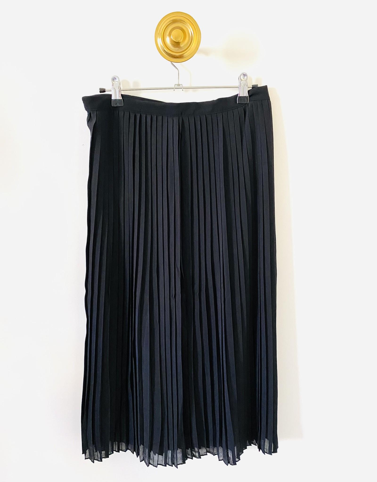 Rosemunde Rok gerecycled polyester - Zwart