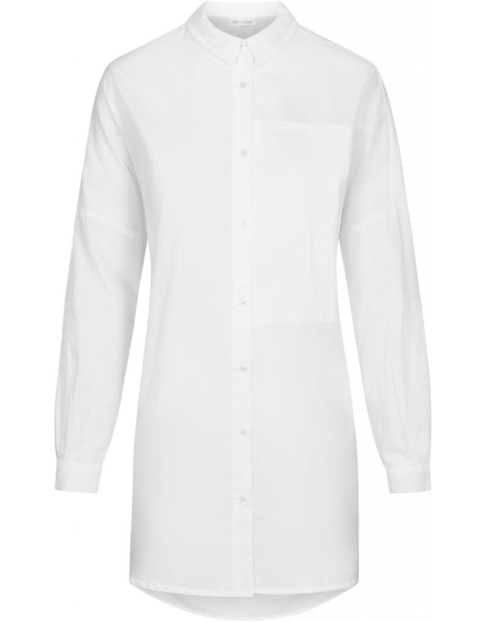 Gai&Lisva tuniek / blouse 'Annie' organisch katoen wit