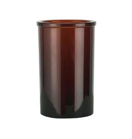 IBLaursen glas bruin / tandenborstelbeker
