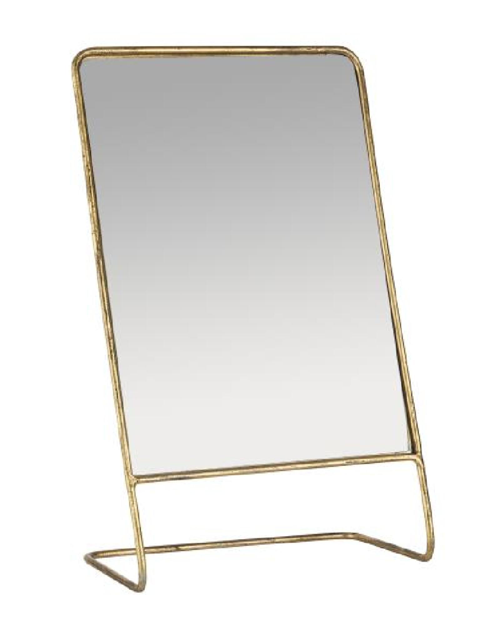 IBLaursen Table mirror brass