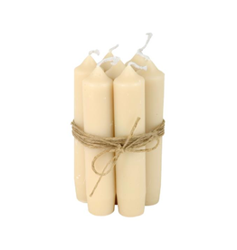 IBLaursen Short dinner candle creme