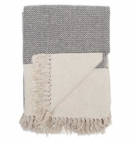 Bloomingville Throw Recycled Cotton 160 x 130 cm