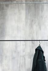 House Doctor kledingrek zwart staal