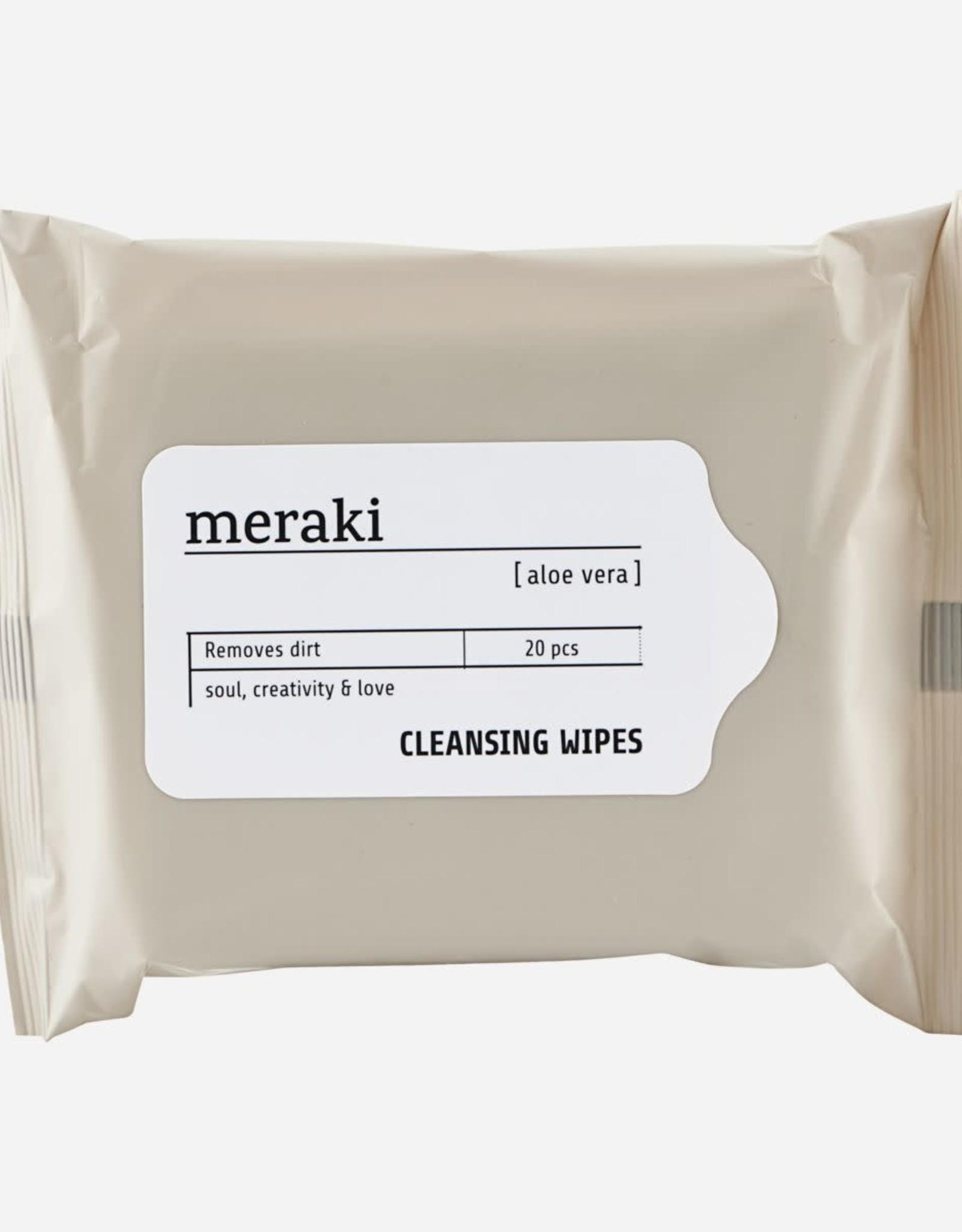 Meraki Refreshing wipes, Aloe vera
