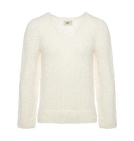 Inti Knitwear sweater 'Tina' ecru alpaca
