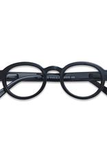 Screen/Reading Glasses 'Circle' - Black
