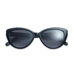 Zonnebril Cateye zwart