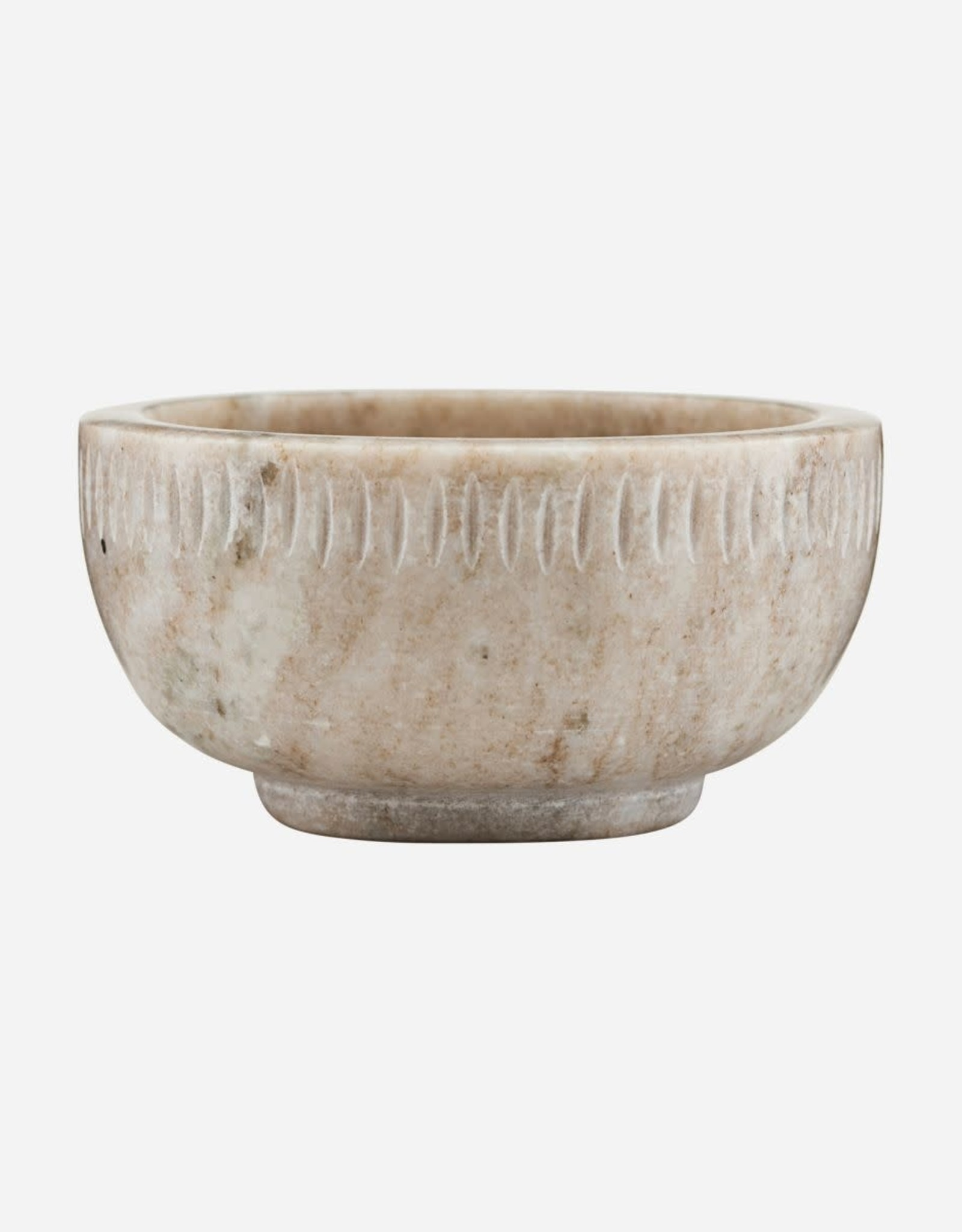 House Doctor bowl, marble