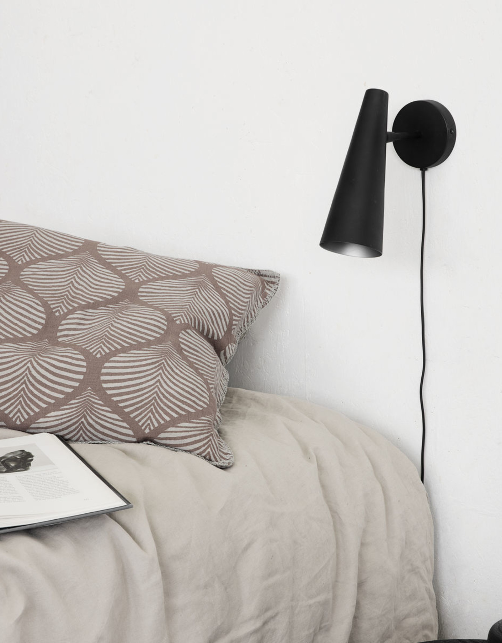 House Doctor Wall lamp, Precise, Matte black