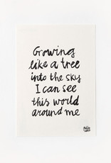 Sukha poster 'Grow' A5 gampipapier