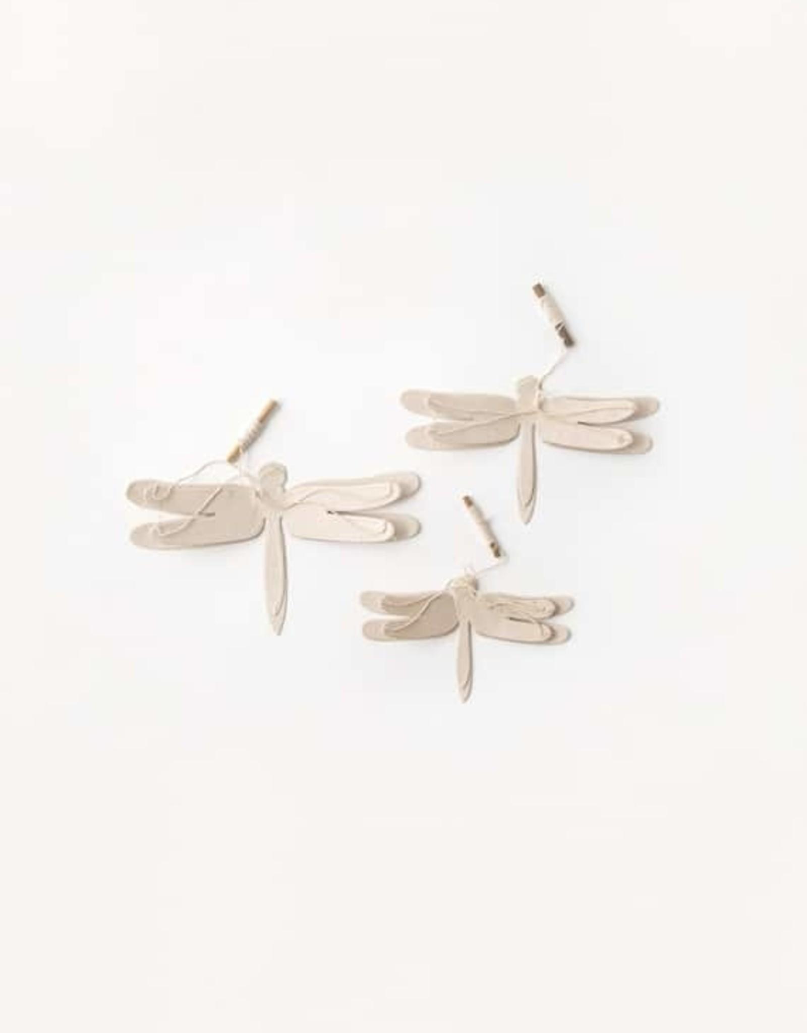 Sukha set/3 dragonfly loktapaper