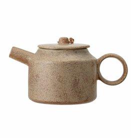 Bloomingville Thea Teapot, Brown, Stoneware