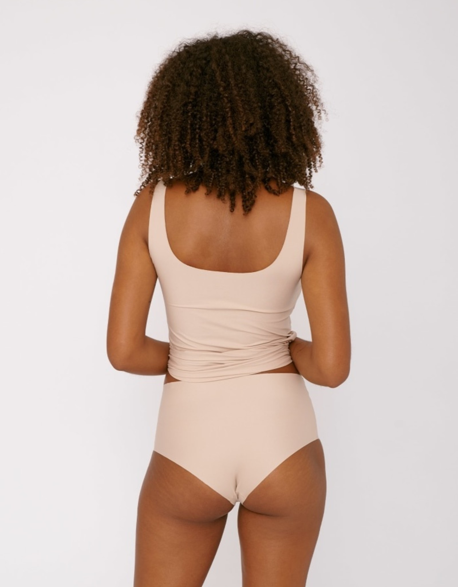 Organic Basics Invisible Cheeky High rise - 2 pack
