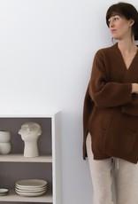 Gai&Lisva Vest 'Charlotte' - Stone Grey Melange