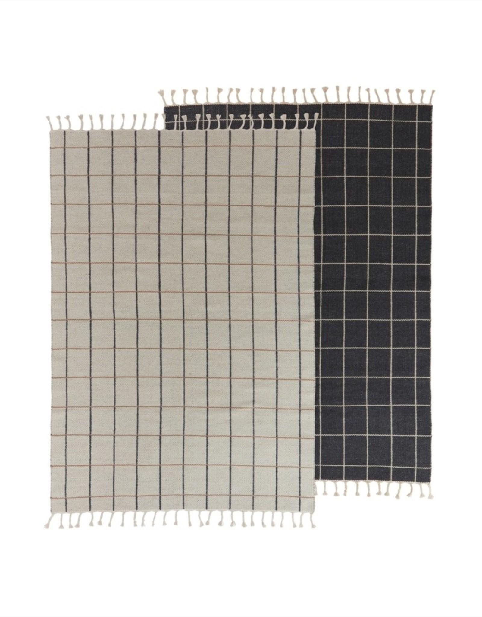 OYOY 'Grid' carpet 140 x 200 cm