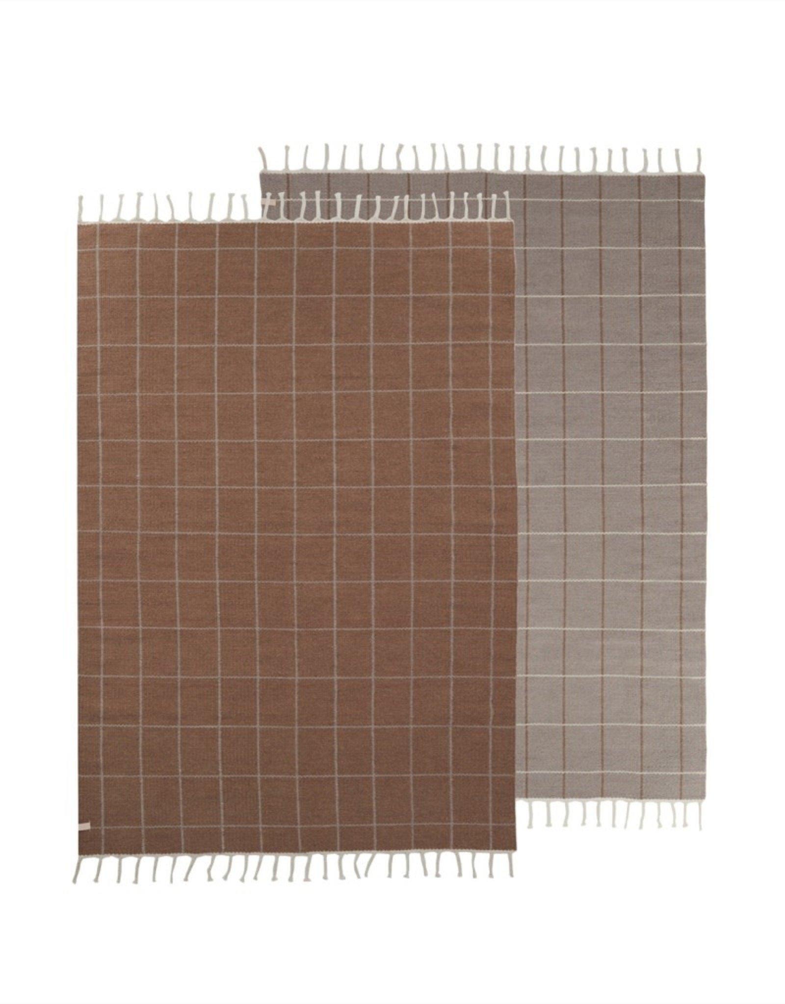 OYOY Grid karpet 140x200cm