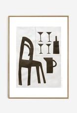 My Deer Art Shop 'Sur la terasse' 40x50cm limited edition