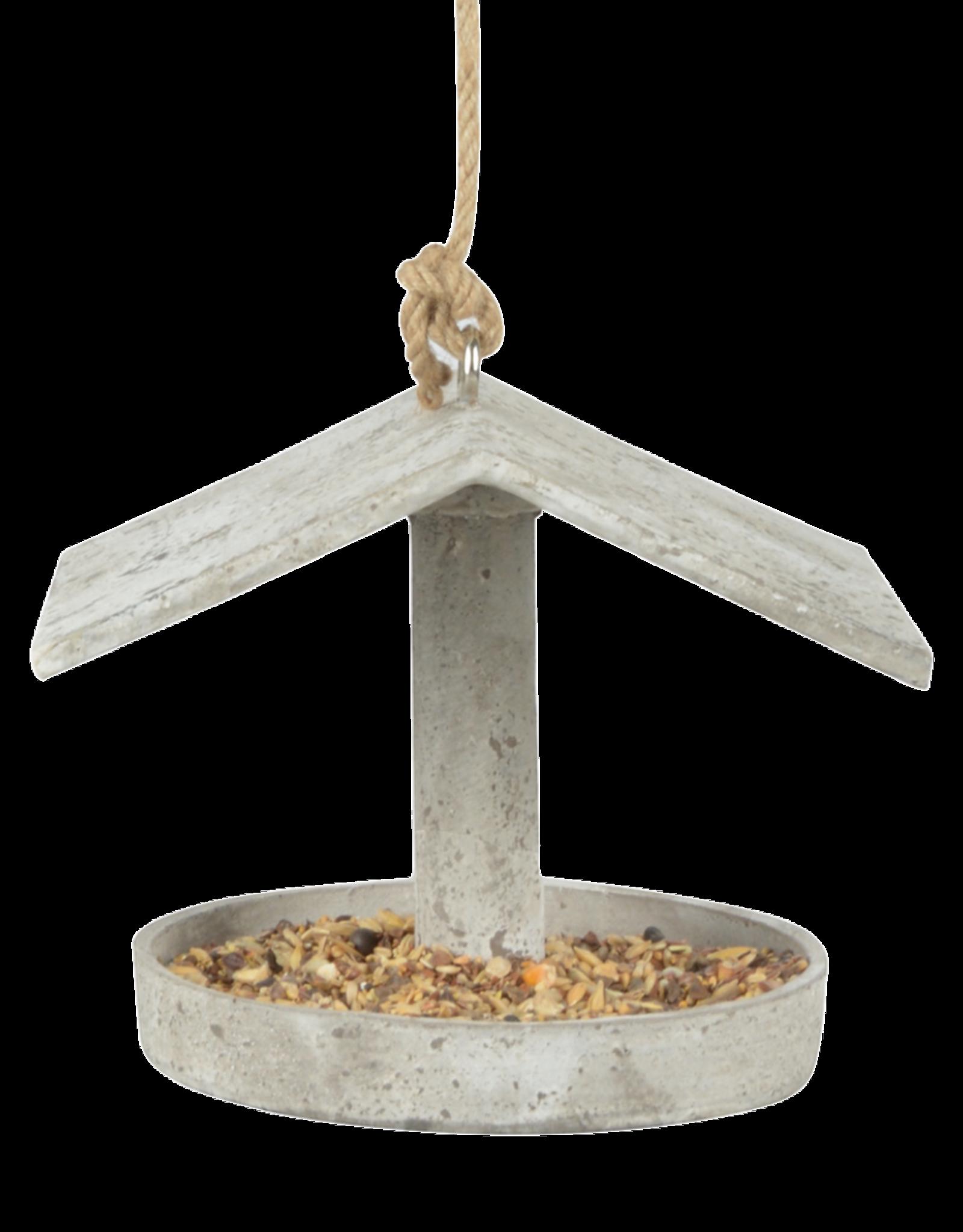 betonlook vogelvoerhouder