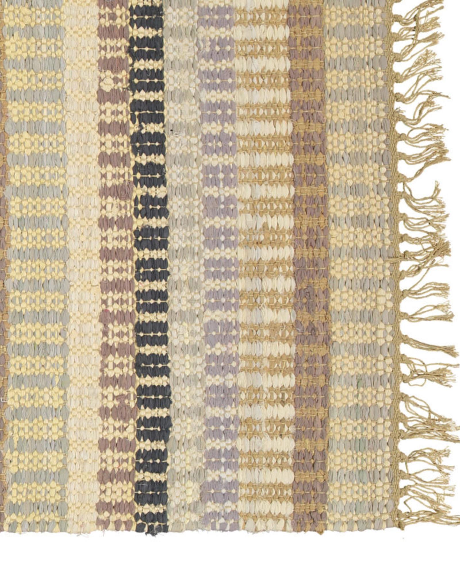 Finarte 'Huvila' rug recycled cotton
