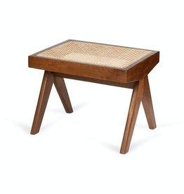 Detjer Footstool Chandigarh -  donkerbruin