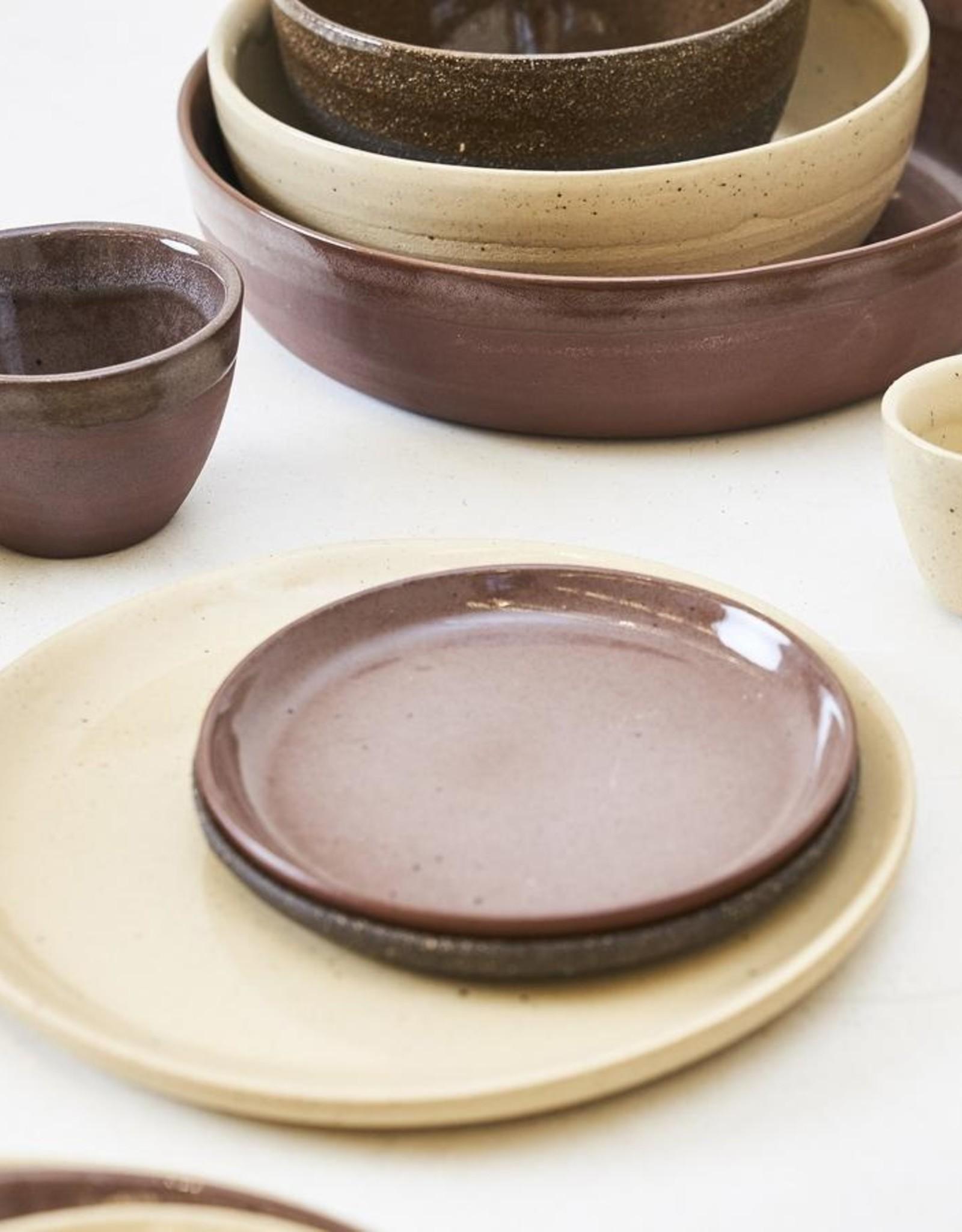 Yann plate S - Creme