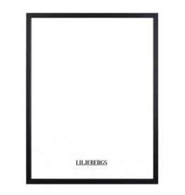 Liljebergs Lijst zwart hout 40x50cm